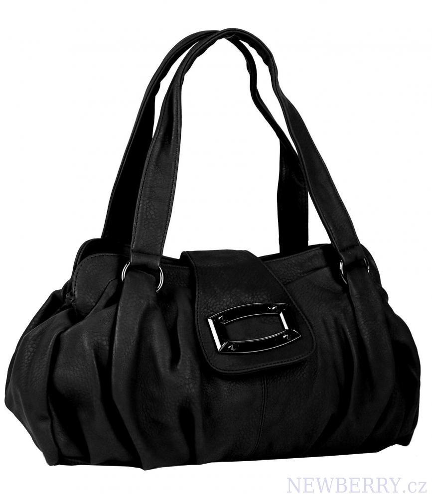 Dámská kabelka na rameno 818 černá