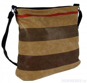 Crossbody kabelka z broušené kůže TH2036   NEWBERRY - velkoobchod ... 38eda9c8385