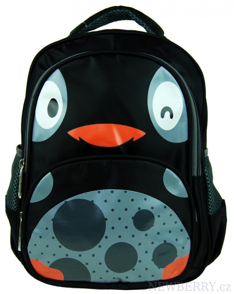 Dětský batoh L12001 černé kuřátko