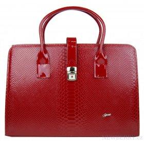 bc880eea97 Luxusní dámská aktovka v červeném hadím laku S563 GROSSO   NEWBERRY ...