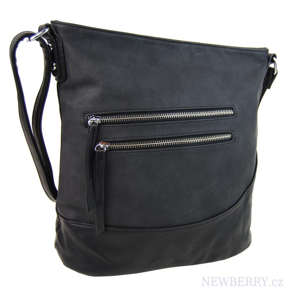 Elegantní crossbody kabelka NH6054 černá