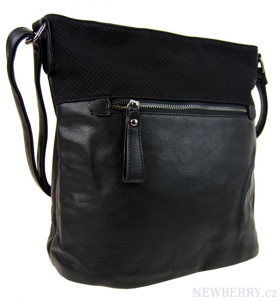 Elegantní crossbody kabelka NH6067 černá