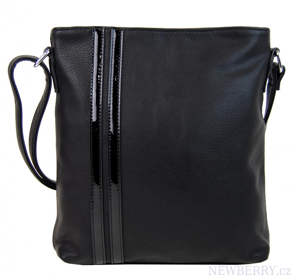 Elegantní crossbody kabelka YH1641 černá