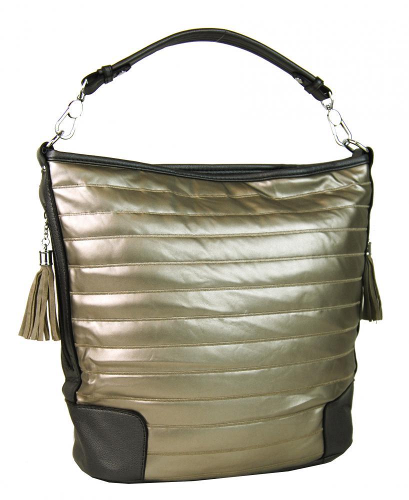 Moderná zlatá kombinovaná kabelka 1944 Bella Belly