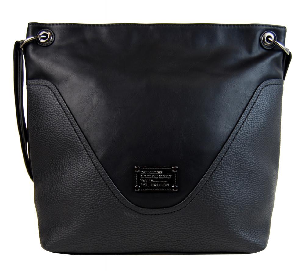 Velká dámská crossbody kabelka 2467-BB černá cb87c5afbac