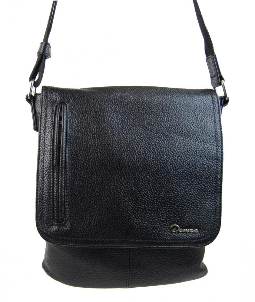Čierna pánska crossbody taška 2609-BB