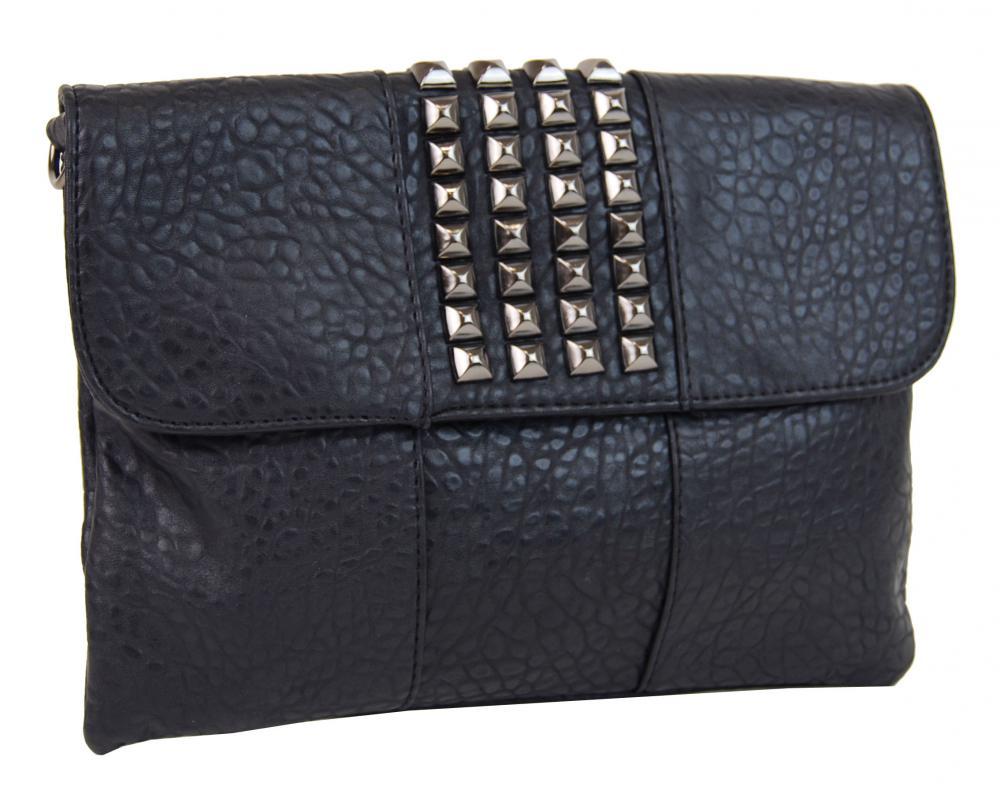Kombinovaná crossbody kabelka / písanie 28006 čierna