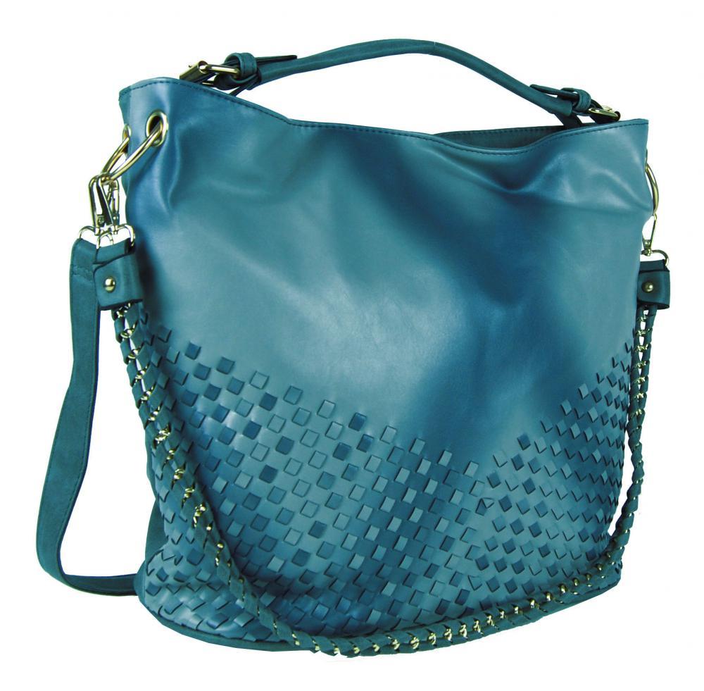 Unikátna kombinovaná kabelka Tapple 3091 modrá
