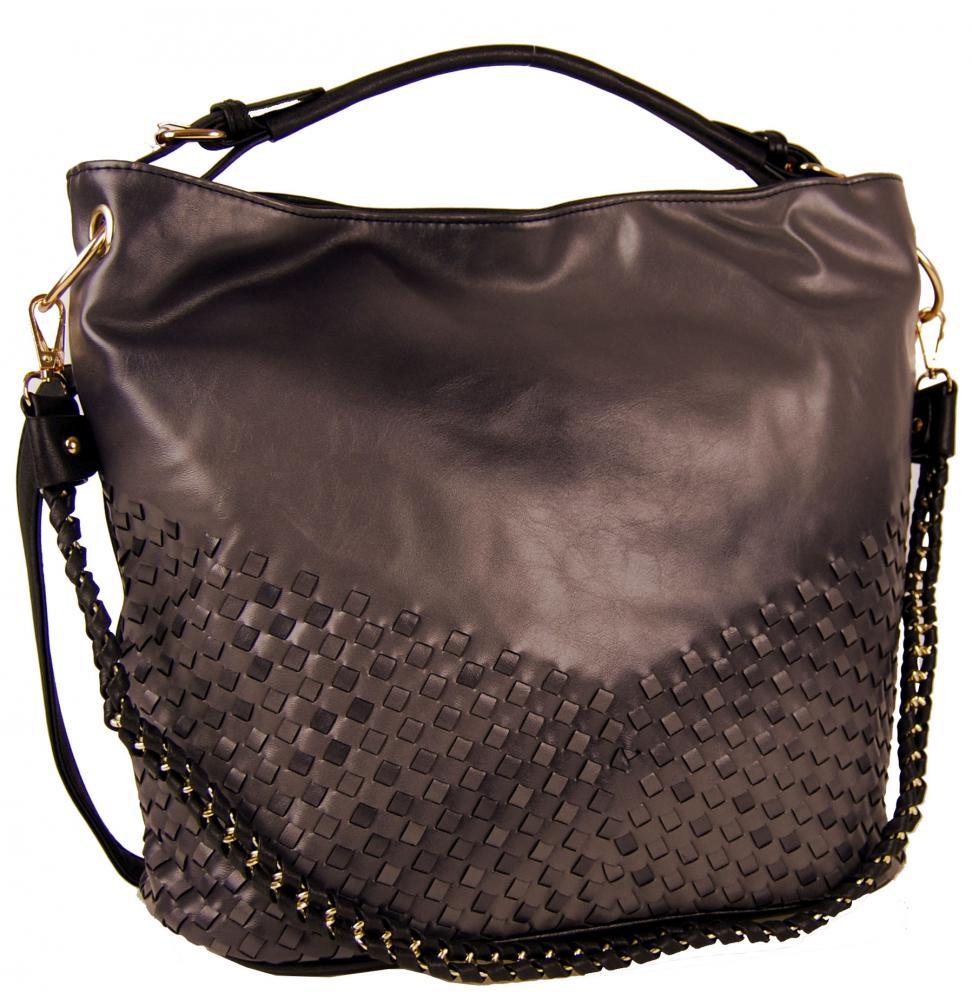 Unikátna kombinovaná kabelka Tapple 3091 kávová hnedá
