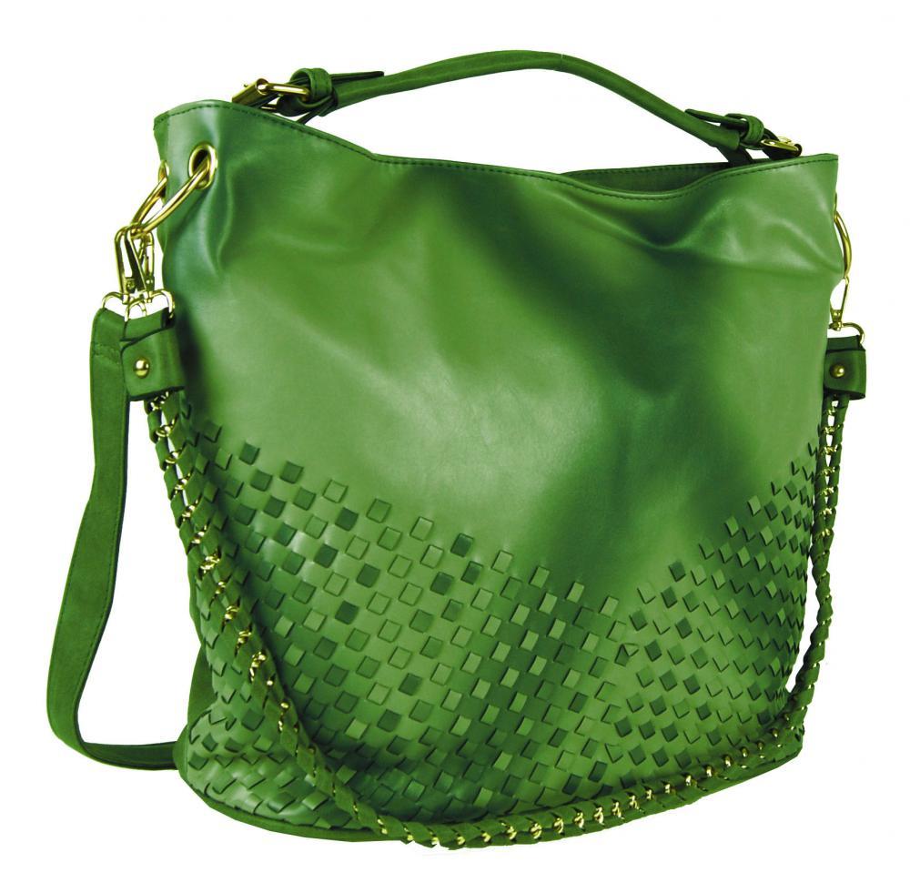 Unikátna kombinovaná kabelka Tapple 3091 trávová zelená