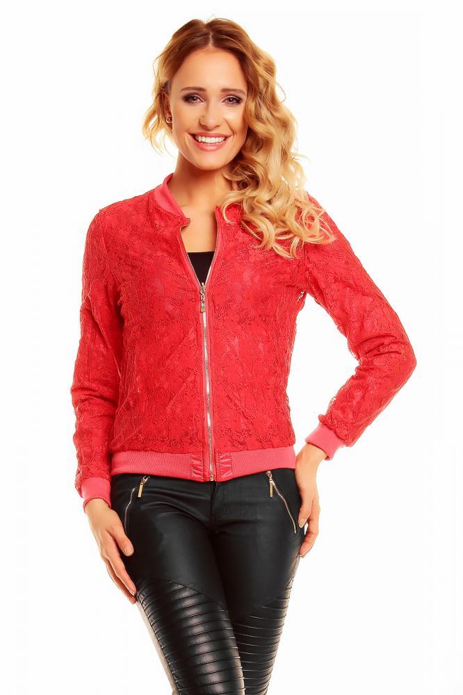 Ľahká dámska obojstranná bunda Zac Zoe červená, XL