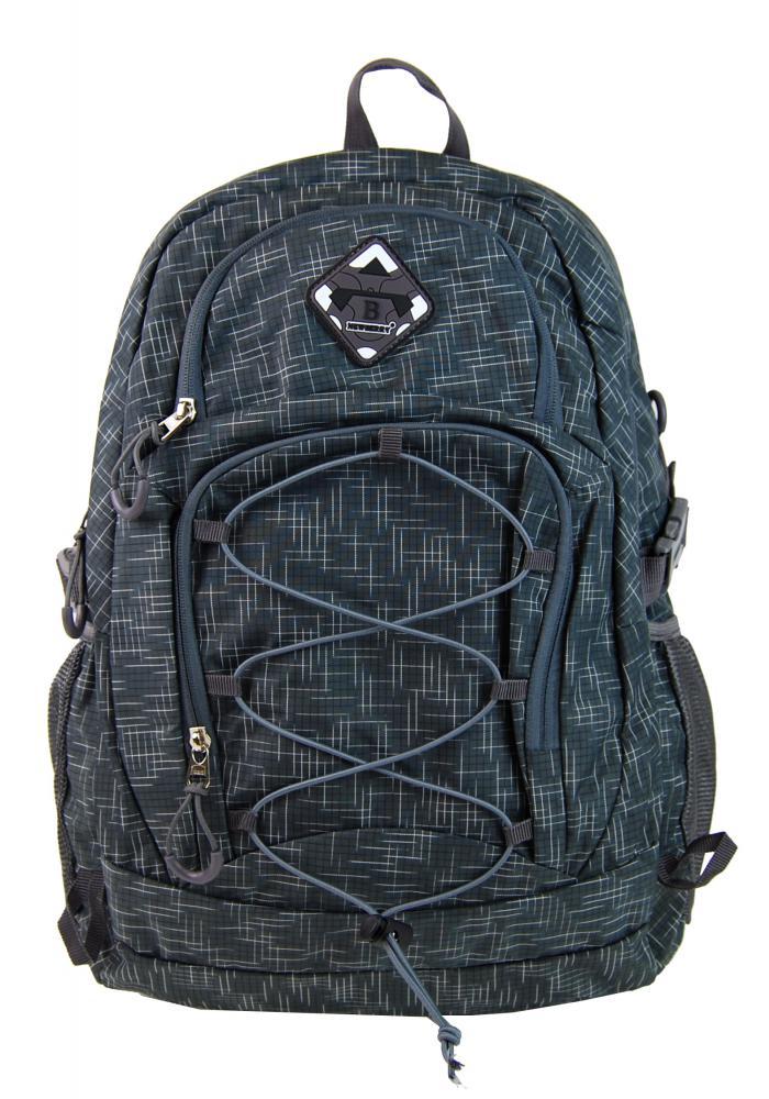 Veľký batoh NEWBERRY do mesta / do školy HL0911 sivý