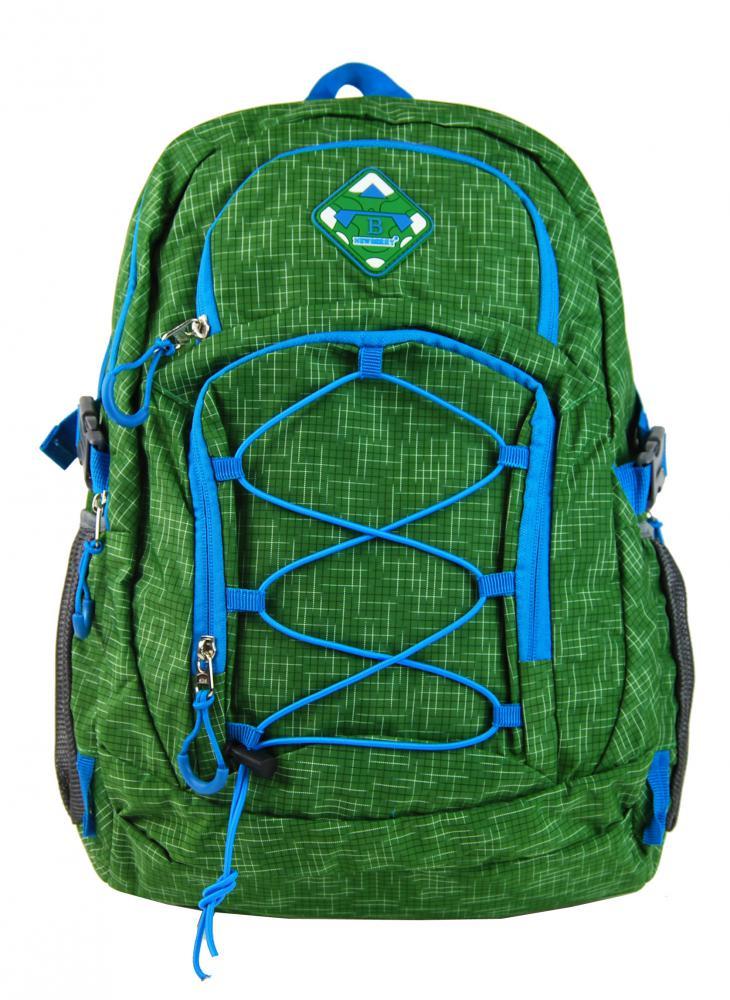 Veľký batoh NEWBERRY do mesta / do školy HL0911 trávovo zelený