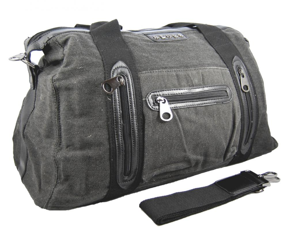 Ľahká cestovná taška 3071-1 sivá