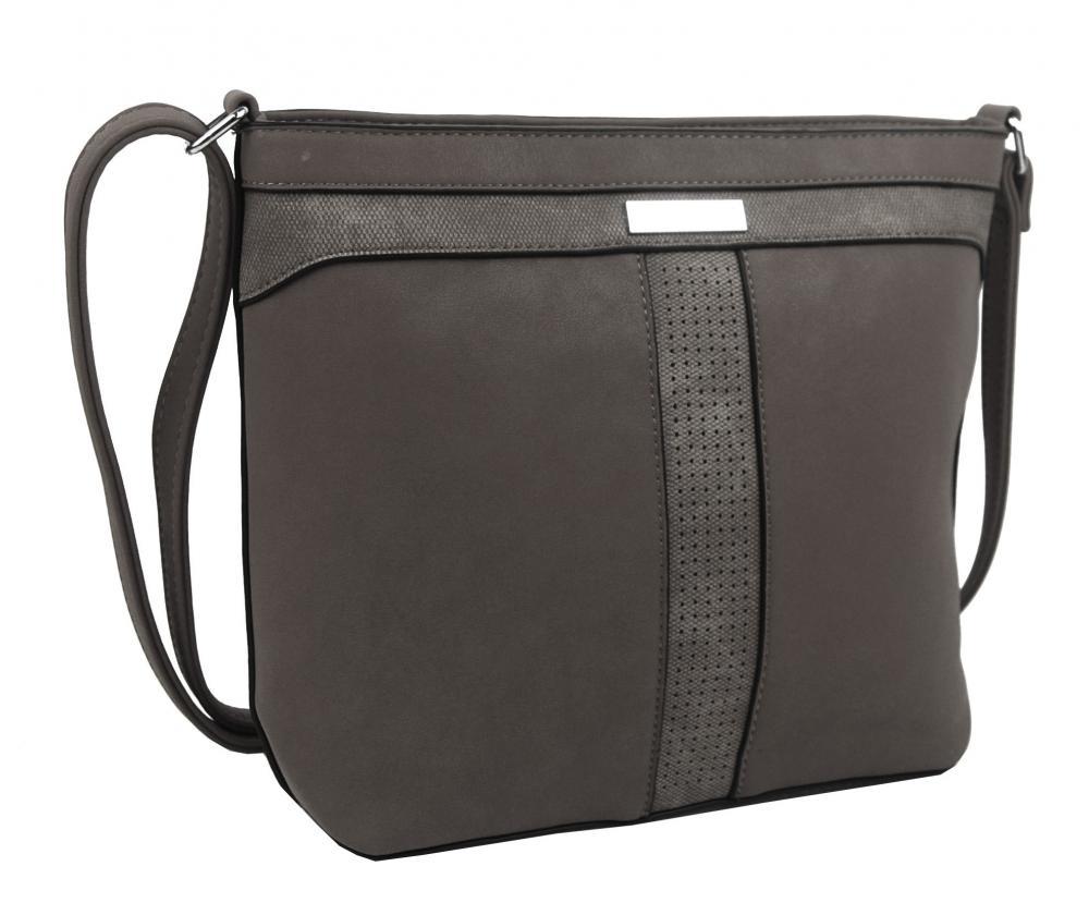 Crossbody dámská kabelka NH8069 šedá