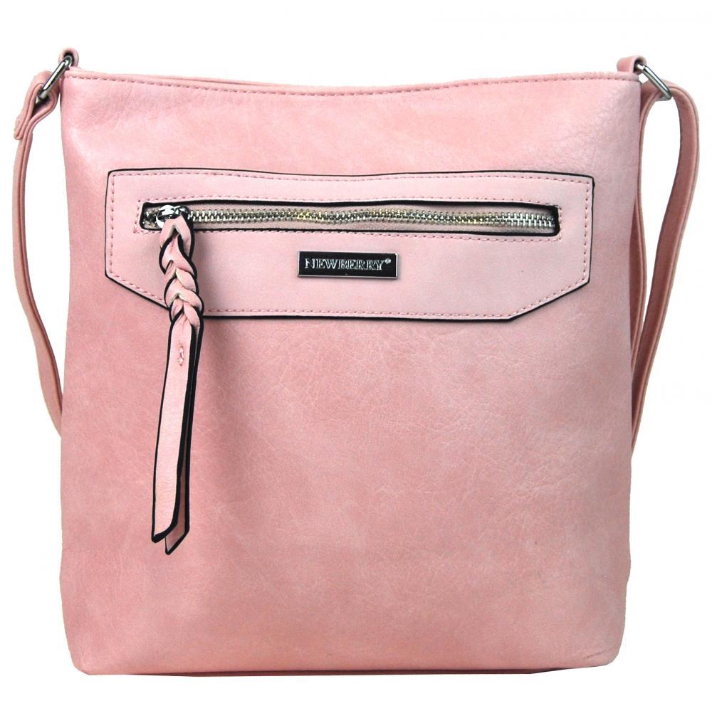 Dámská crossbody kabelka NH8041 růžová