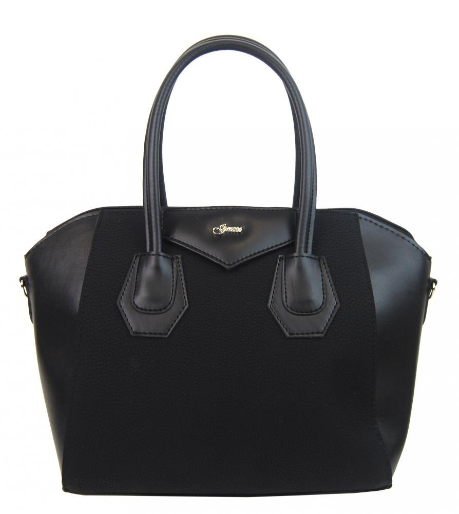 Černá dámská kabelka S744 GROSSO