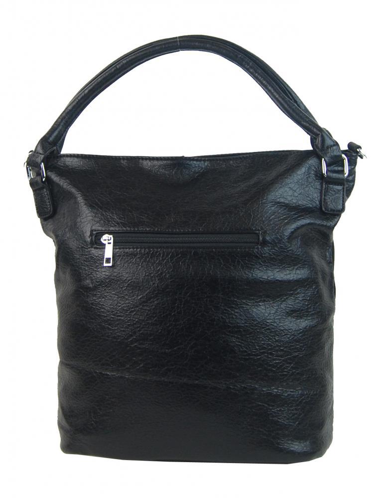 Kombinovaná dámská kabelka NH8028 černá