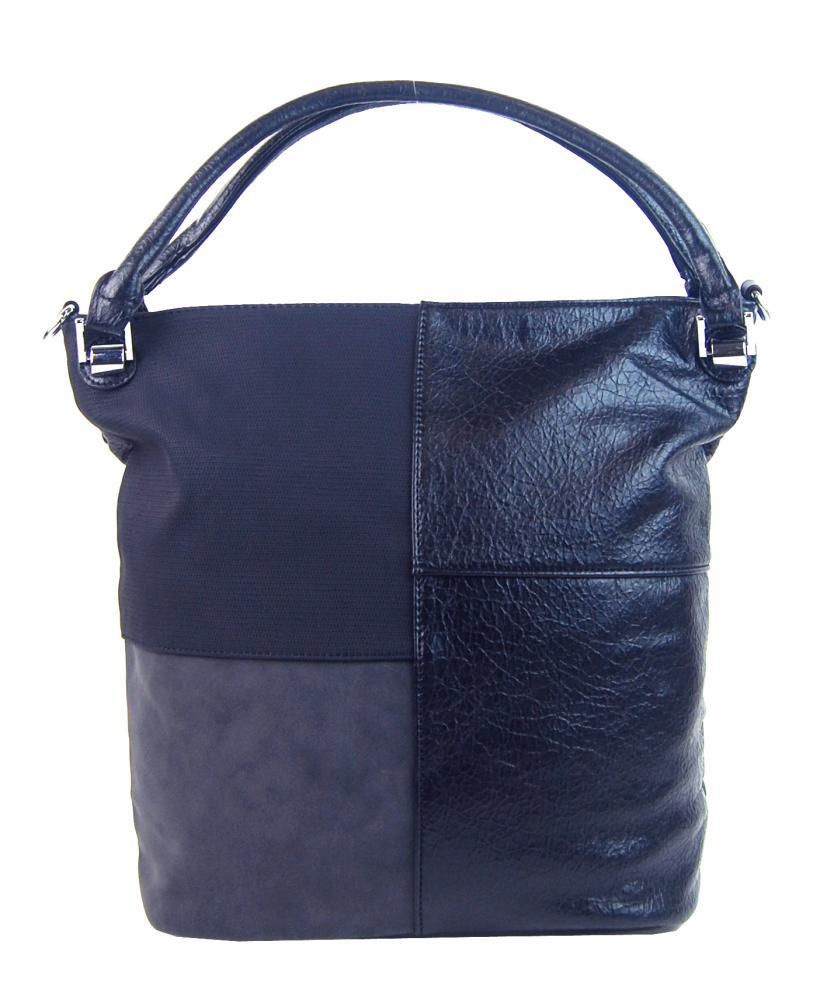 Kombinovaná dámská kabelka NH8028 modrá
