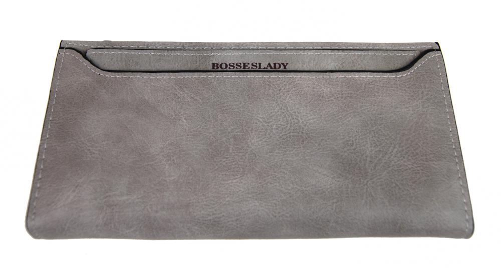 Tenká svetlo sivá dámska peňaženka BOSSESLADY DX13
