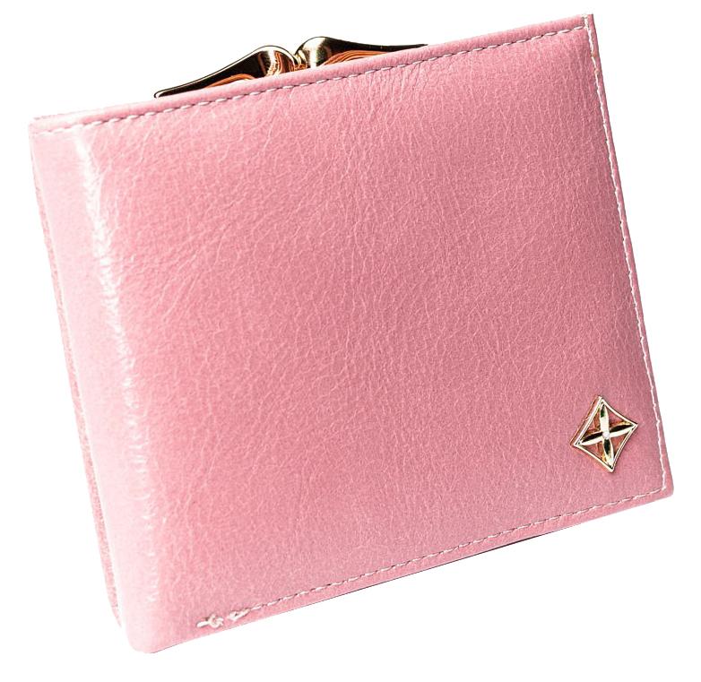 Stylová růžová dámská peněženka v dárkové krabičce MILANO DESIGN