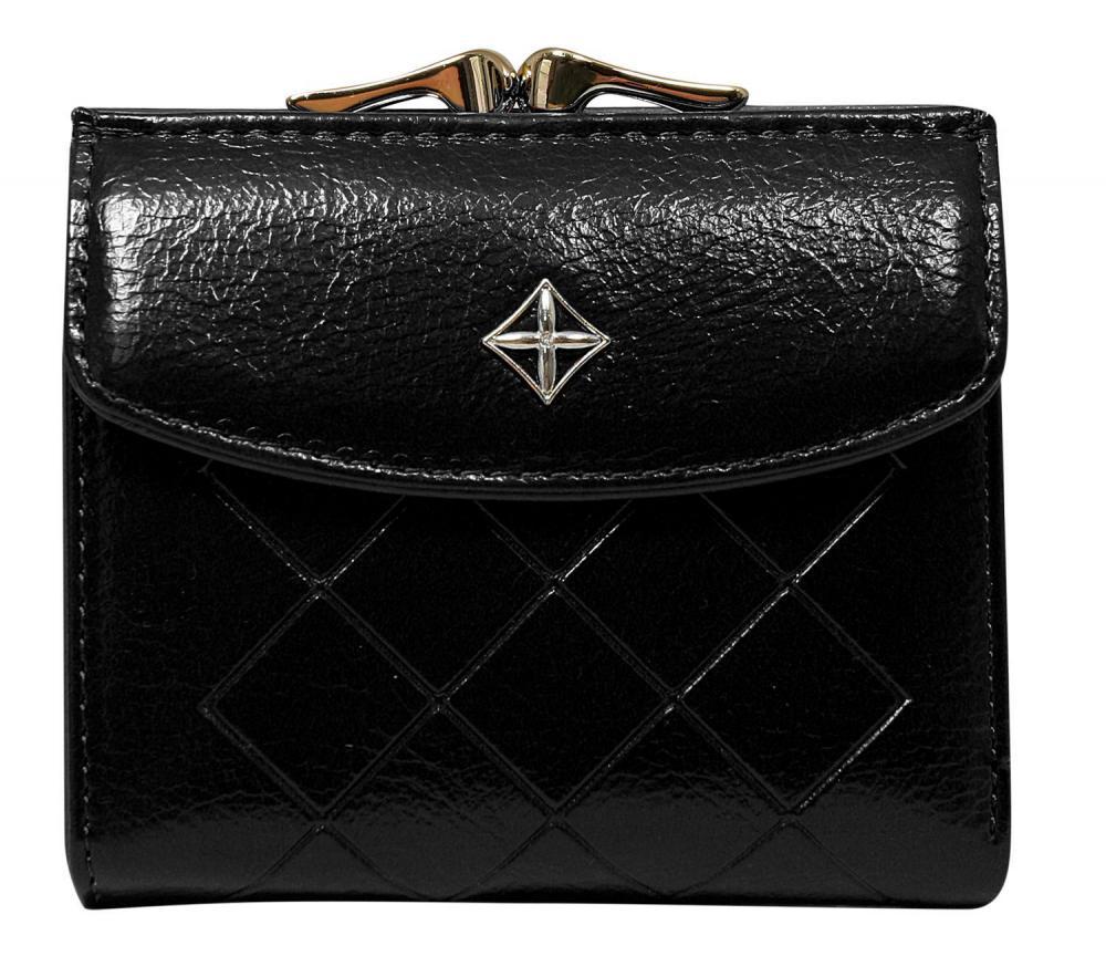 Elegantní černá dámská peněženka v krabičce MILANO DESIGN