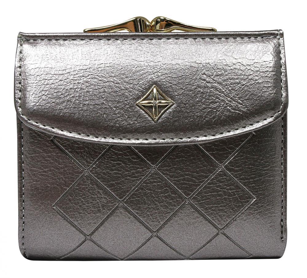 Elegantní stříbrná dámská peněženka v krabičce MILANO DESIGN
