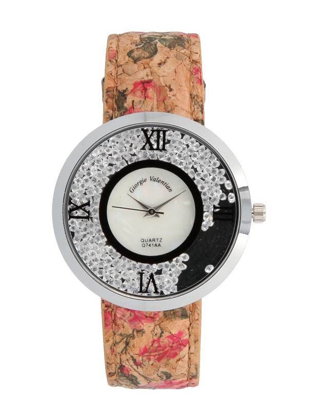 Korkové náramkové dámské hodinky Giorgie TC19035