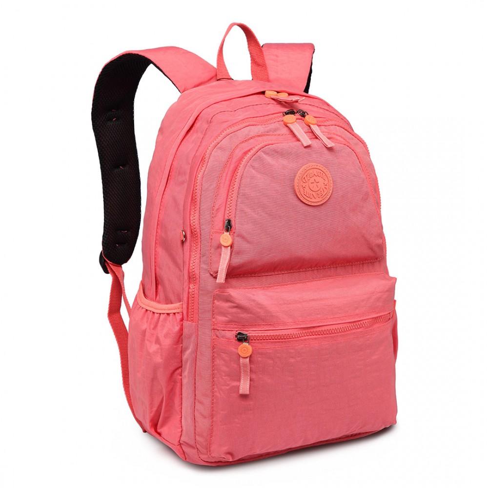 Kvalitný lososový batoh s vodoodpudivou povrchovou úpravou Miss Lulu