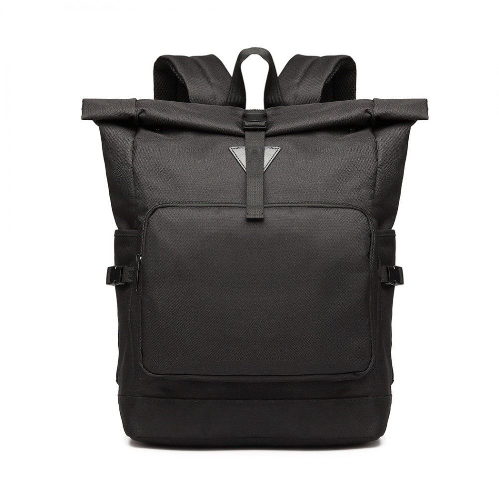 Černý školní batoh Miss Lulu UNISEX