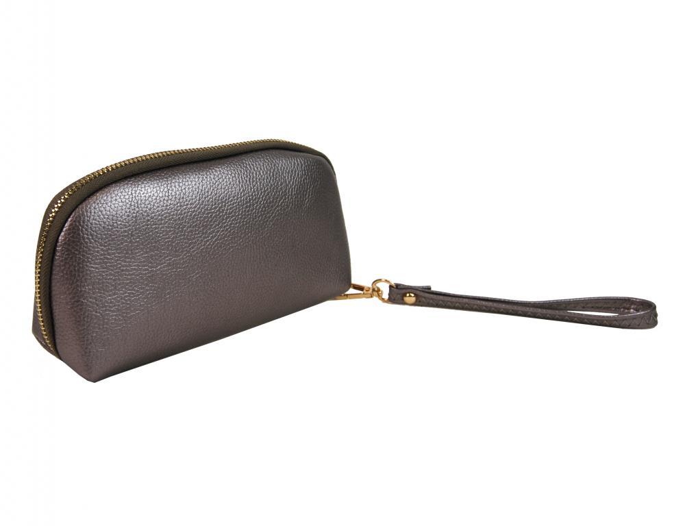 Praktická dámská pouzdrová peněženka stříbrná FD-059