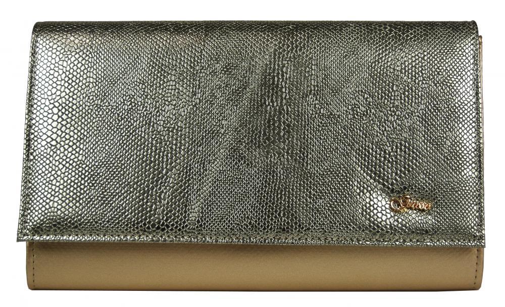Luxusná zlatá dámska listová kabelka SP100 GROSSO