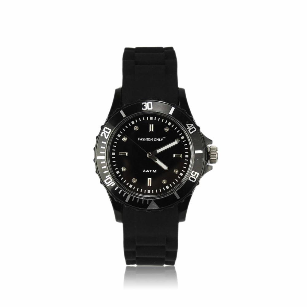 Unisex módní náramkové hodinky LSW0016 černé