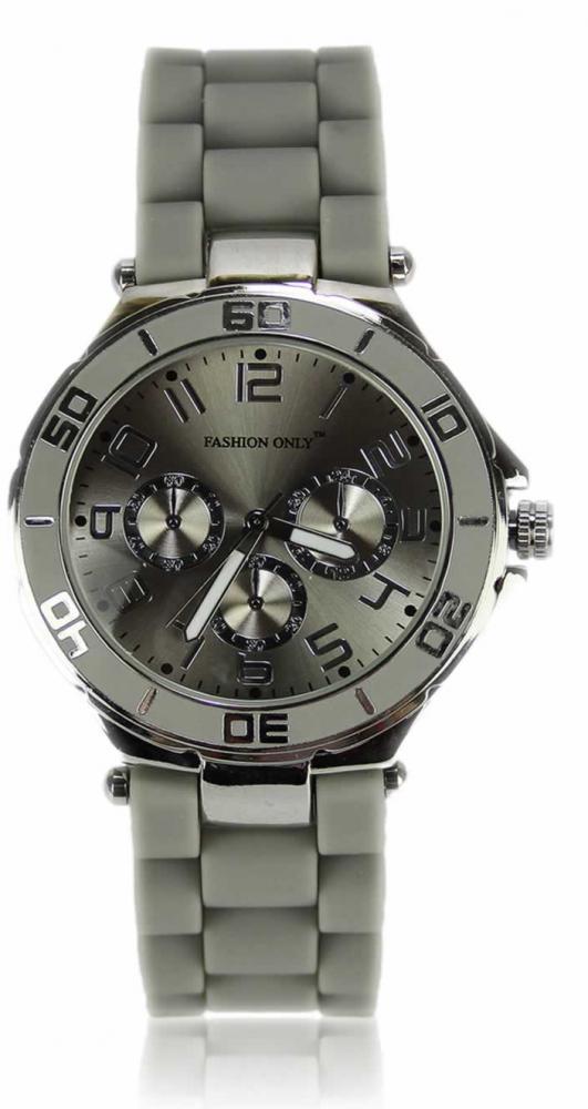 Unisex módne náramkové hodinky LSW0015 sivé