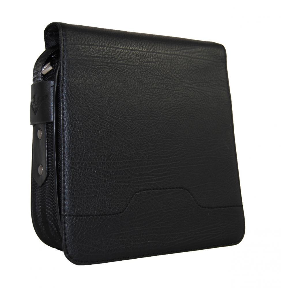 Čierna malá pánska taška cez rameno Mahel 201-1