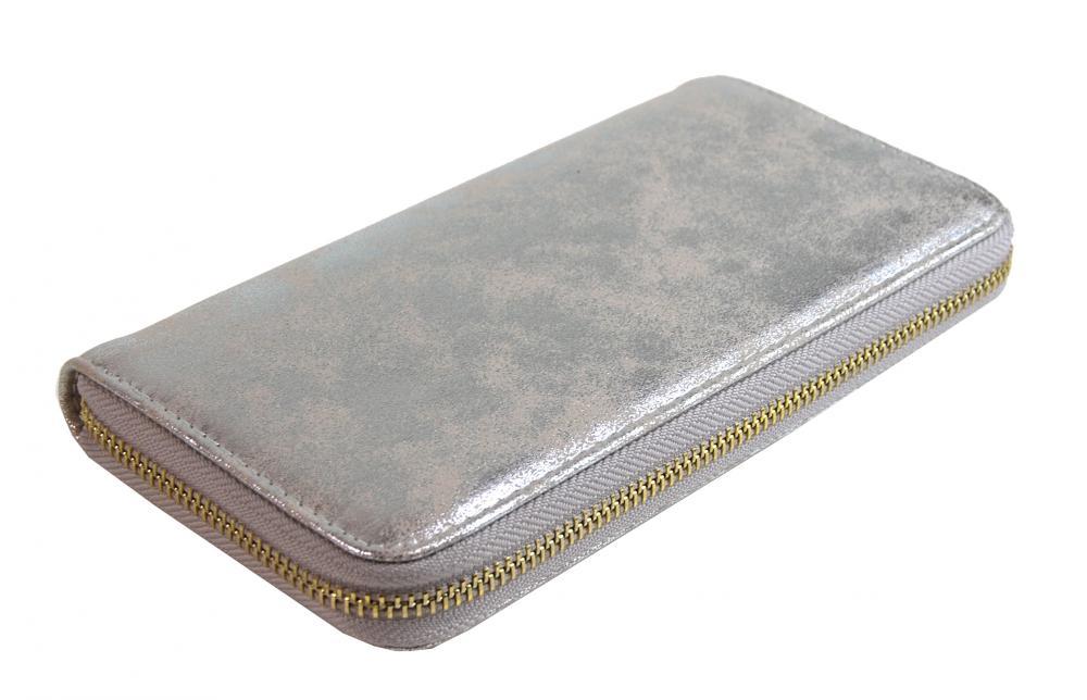 Praktická dámska peňaženka 030-BB ružové trblietavá