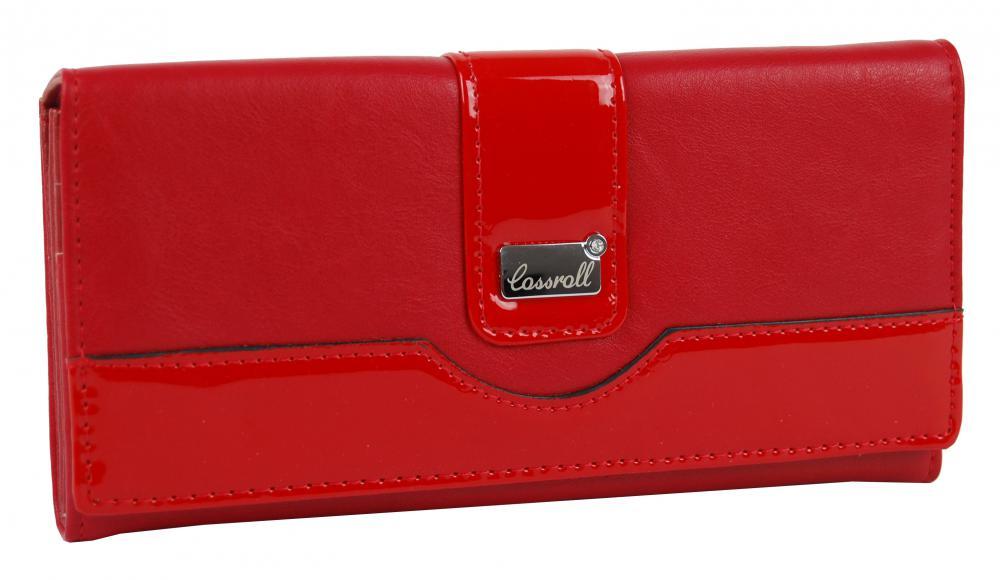 Červená dámska peňaženka Cossroll B31-5242F-1