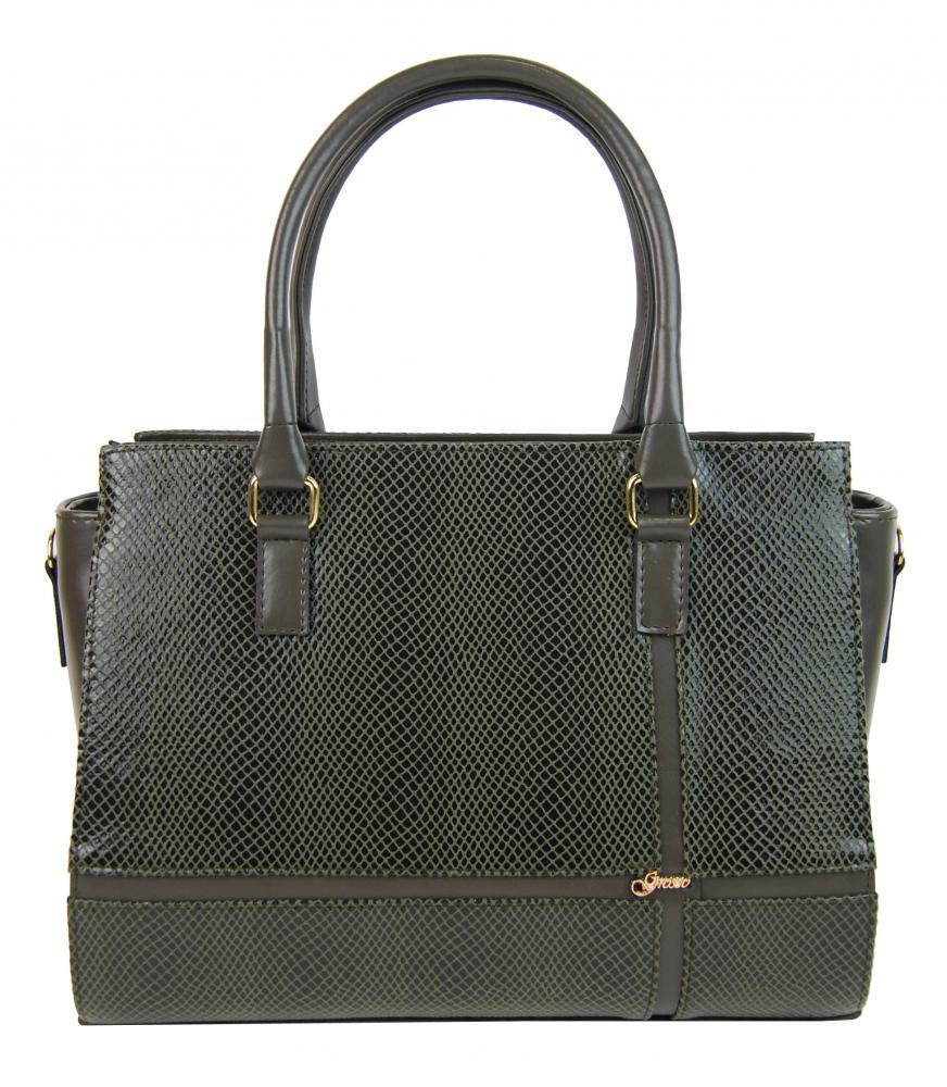 936d2839b2 Luxusná zelená hadí elegantní dámská kabelka S679 GROSSO