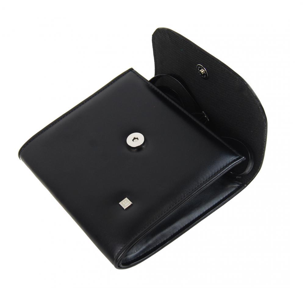 Menší černé matné dámské psaníčko SP111 ELI