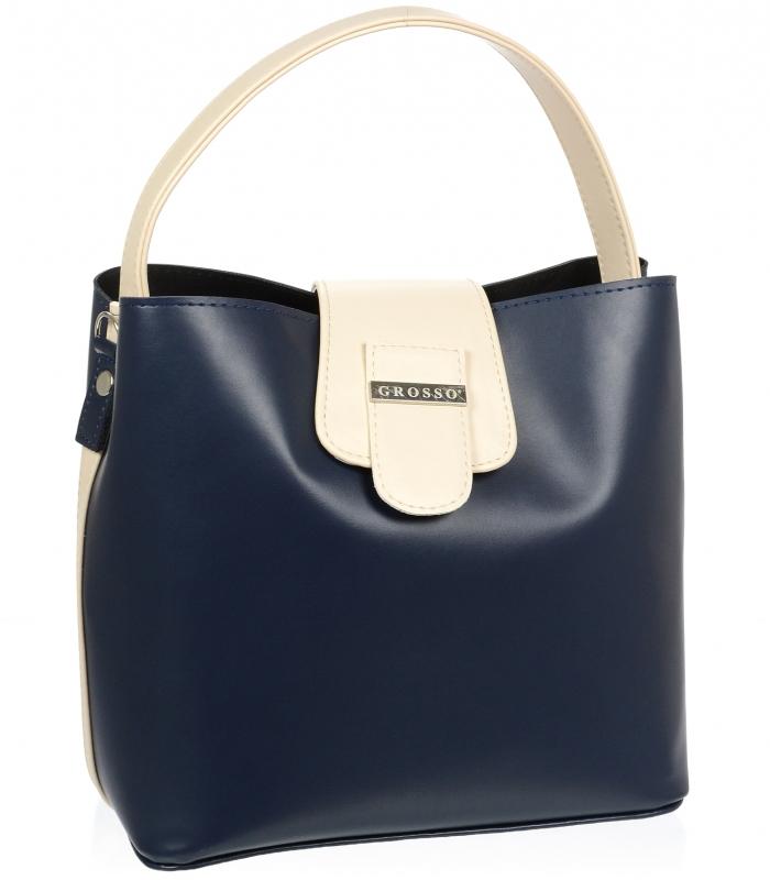 Modro-bílá sportovní dámská kabelka S740 GROSSO  c59a8e3102