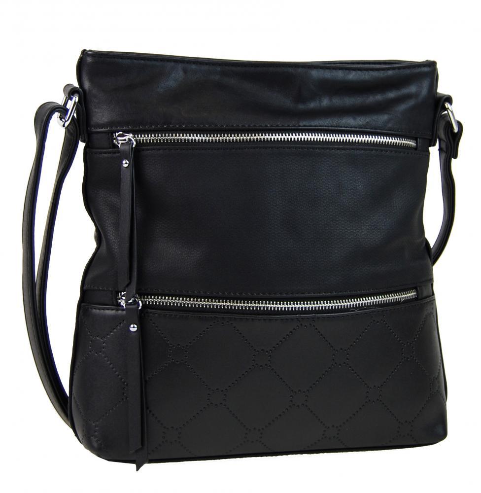 NEW BERRY dámska crossbody kabelka YH1647 čierna