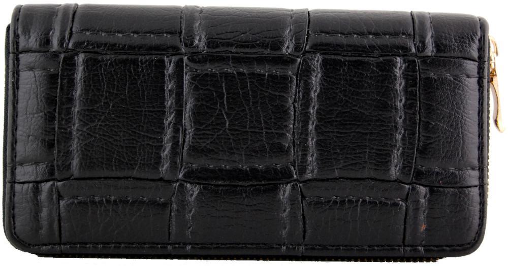 Moderná praktická dámska zipsová peňaženka ZF5055 čierna