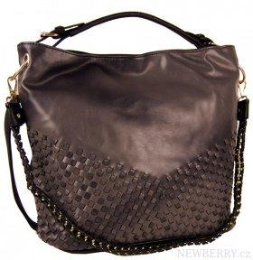 bb39dfc84fc Kombinovaná dámská kabelka Tapple 3091 kávová hnědá   NEWBERRY ...