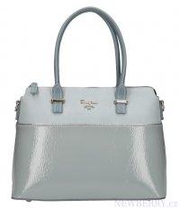 e2bef24bec Světle modrá dámská elegantní kabelka David Jones
