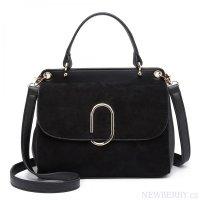 Originální černá menší dámská kabelka Miss Lulu 7d531290206
