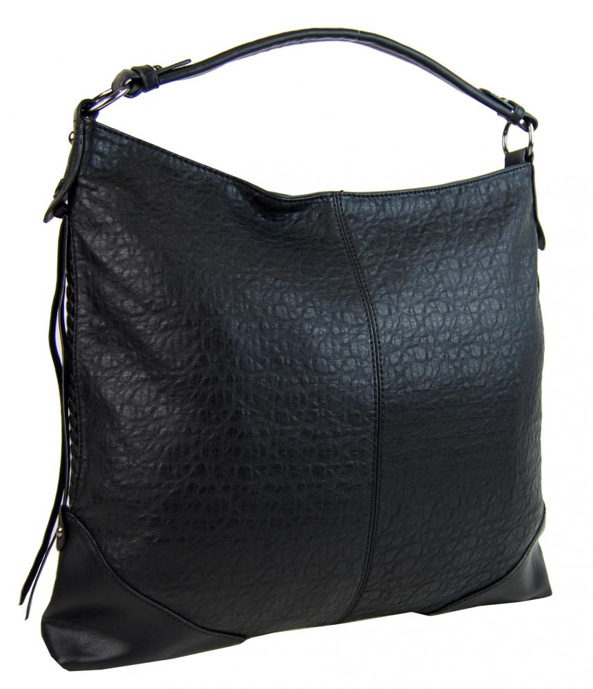 Černá dámská kabelka na rameno Alessandra