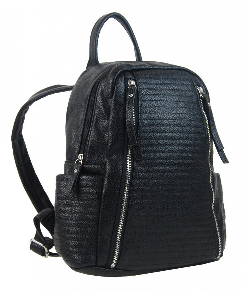 Čierny dámsky elegantný batôžtek 2606-BB