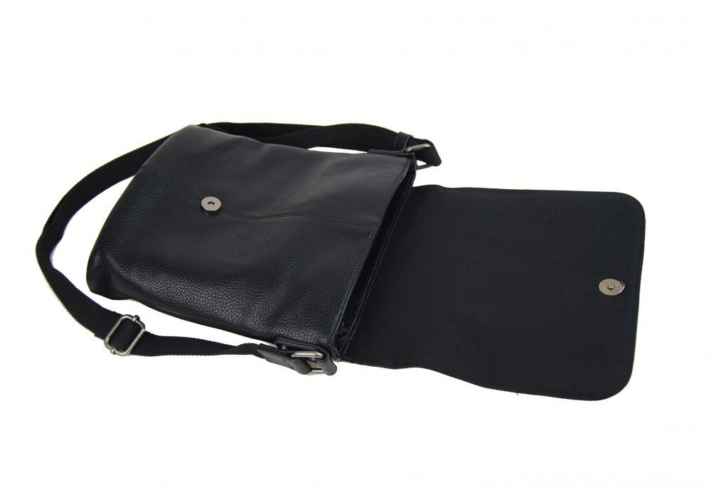 Černá pánská crossbody taška 2609-BB