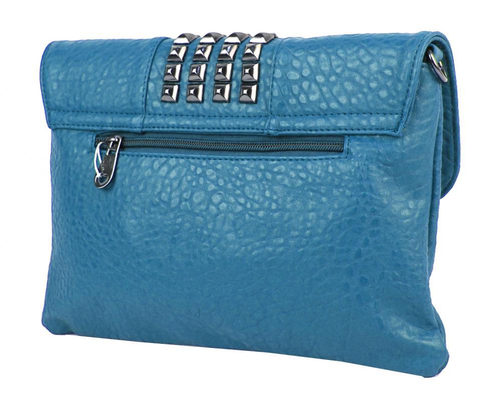 Kombinovaná crossbody kabelka / psaní 28006 modrá