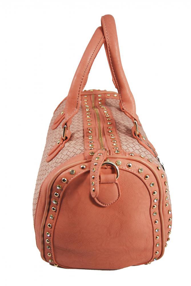 Světle růžová kabelka Orella Paris 2K1202